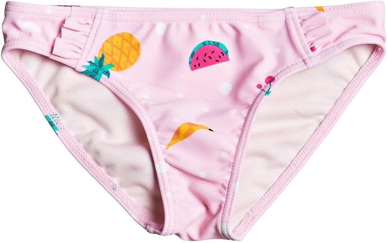 Roxy Lovely Aloha M/ädchen 2-7 Rosa Bikini Bottoms 4 Bikiniunterteil