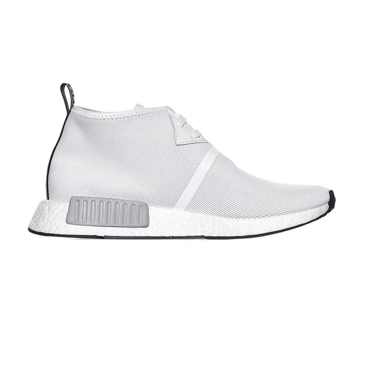 NOOW EAR High Top C1 ChukkaVintage White Sneakers For Mens Womens