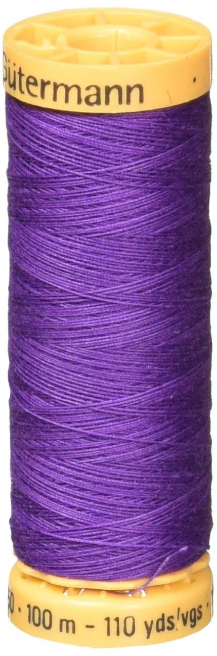 天然コットン スレッド 110 ヤード明るい紫   B0019D00A2