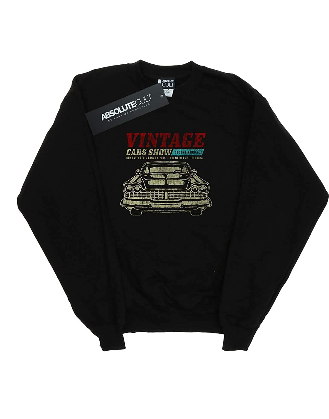 Drewbacca Girls Vintage Car Show Sweatshirt