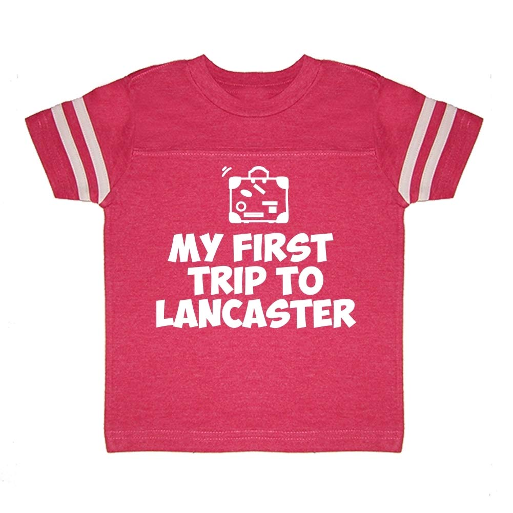 Toddler//Kids Sporty T-Shirt My First Trip to Lancaster