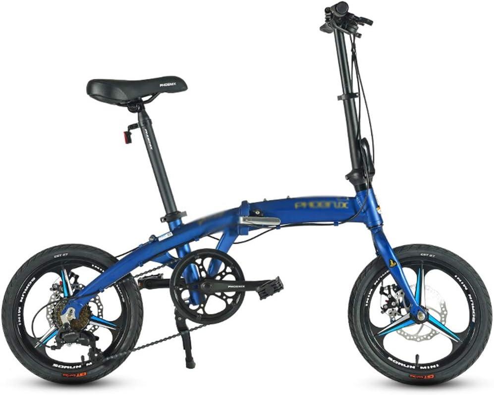 Paseo Bicicleta Bicicleta Plegable Amortiguador Coche Urbano ...
