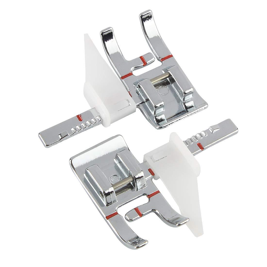 Andux Gu/ía ajustable M/áquina de coser Prensatelas DGYJ-01 Paquetes de 2
