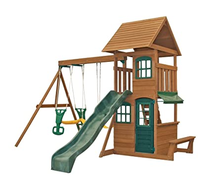 Amazon Com Big Backyard F23220 Windale Play Center Toys Games