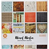 """ColorBok 73470A Designer Paper Pad Mixed Media, 12"""" x 12"""""""
