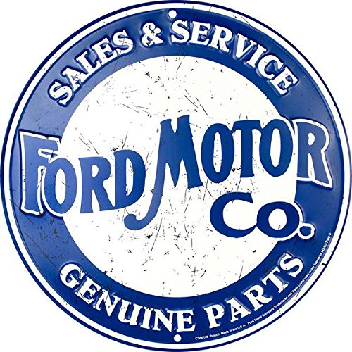 HangTime Ford Motor Company Sales & Service Genuine Parts Circle Sign