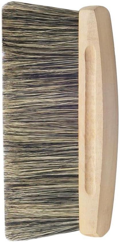 Escoba de cerdas claras para pintor calidad profesional 170 x 26 mm