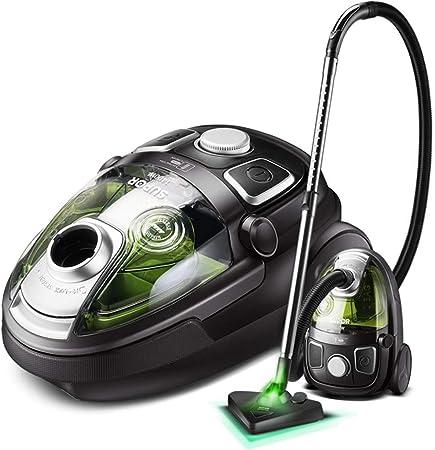 XDXDWEWERT Limpiador de casa Aspirador casero de Mano Mudo Potente Alta Potencia pequeño Aspiradoras de Mano (Color : Green): Amazon.es: Hogar