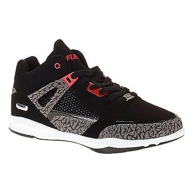 39e6080c4ffcdd Amazon.com | Fubu Mens Reed Basketball Shoe (7, Black) | Basketball