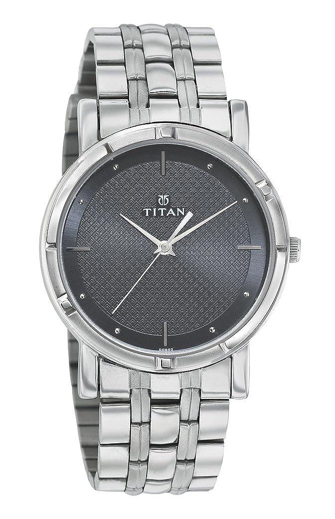 24acb65fbb Buy Titan Karishma Analog Black Dial Men's Watch -NK1639SM02 Online at Low  Prices in India - Amazon.in