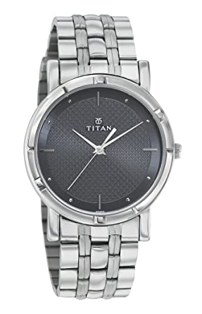 f07fb4d87 Image Unavailable. Image not available for. Colour  Titan Karishma Analog  Black Dial Men s Watch ...