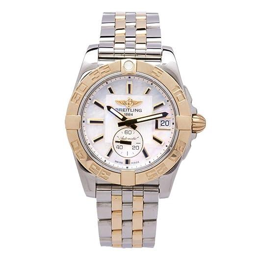 Breitling Galactic automatic-self-wind Mens Reloj c37330 (Certificado) de segunda mano: Breitling: Amazon.es: Relojes