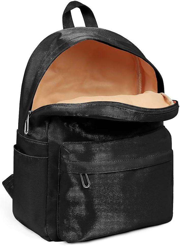 Casual Nylon Durable 13 Inch Laptop Compartment Backpack Bag Purse Womens Girl Boys Bag Purse Zetor-Logo