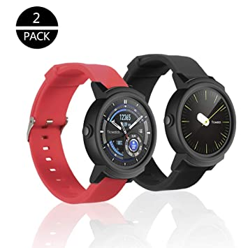 Rukoy Correas TicWatch E/Huawei Watch 2 Reloj Inteligente ...