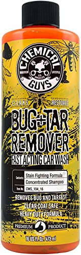 Chemical Guys CWS_104_16 Bug & Tar Heavy Duty Car Wash Shampoo