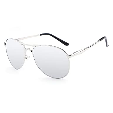 1b65cce78b HDCRAFTER Aviator UV400 Polarised Sunglasses Mens Outdoor Driving Glasses   Amazon.co.uk  Clothing