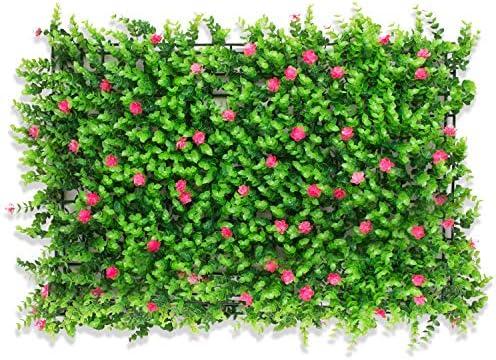 TTIK Césped de Plantas Flor Hierba Hoja Artificiales Pared Decoración Jardín Boda Mesa Fiesta Interior y Exter para decoración de Plantas, 40 x 60 cm,B: Amazon.es: Hogar