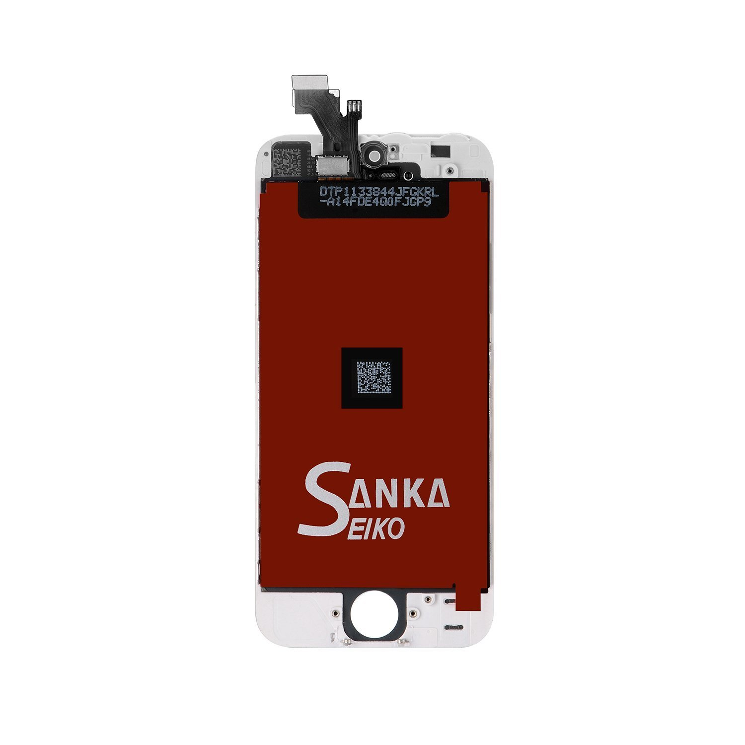 SANKA iPhone 5 LCD Screen Replacement White, Digitizer Display Retina Touch Screen Glass Frame Assembly for iPhone 5 - White (Free Tools Included) by SANKA (Image #2)