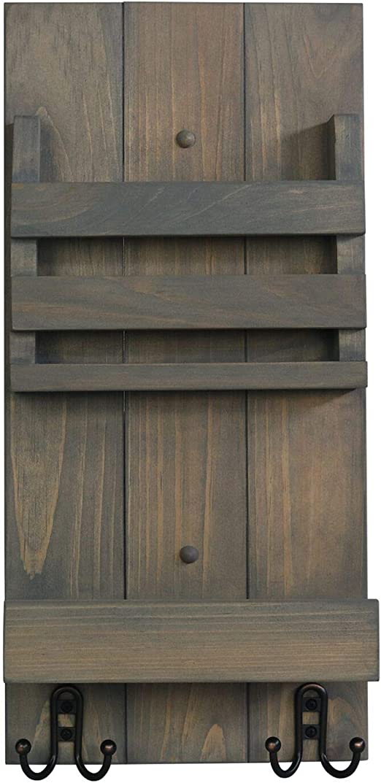 Key/&Letter Hanger Holder Storage Wall Hook Rack Organizer Mount Home Decor Door