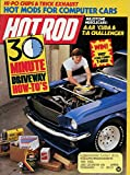 "Hot Rod Magazine July 1987- ""30 MINUTE DRIVEWAY HOW-TO'S"