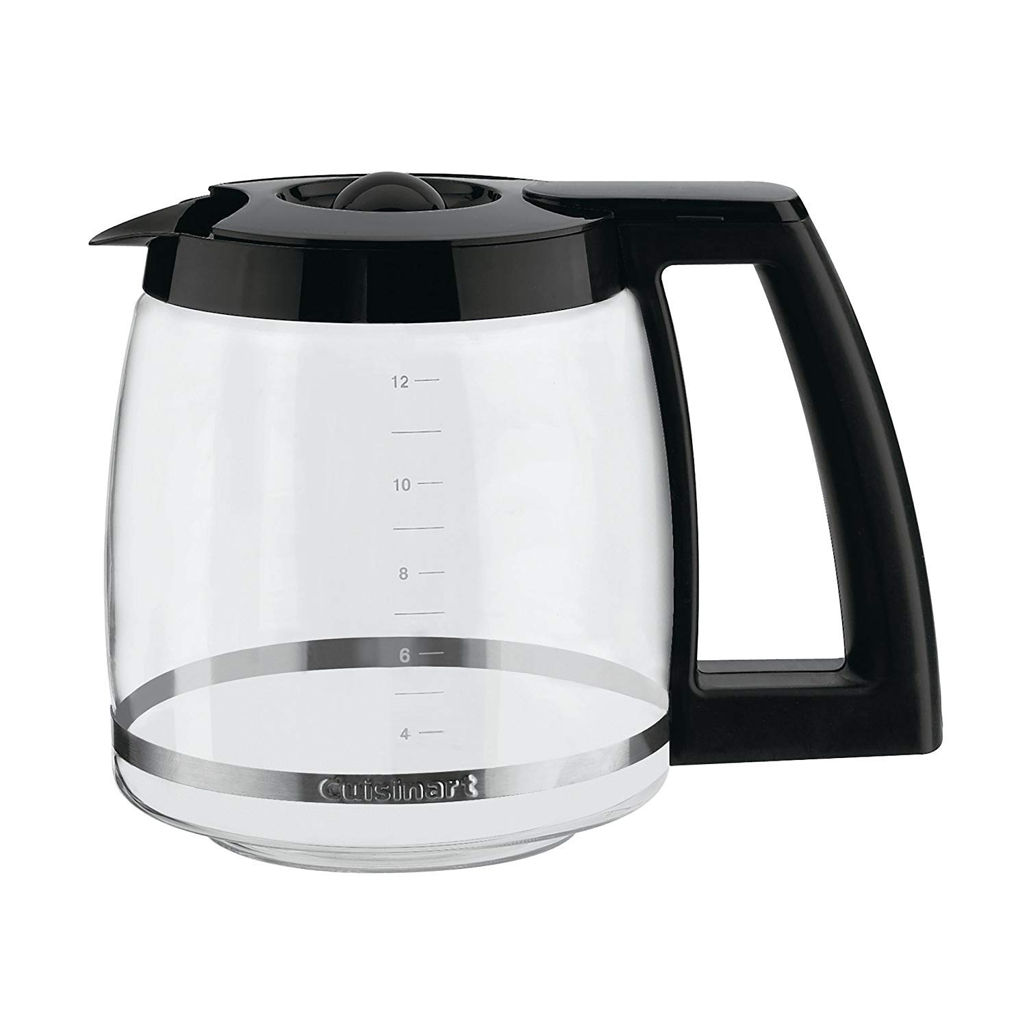 Cuisinart DCC-1200 12 Cup Coffeemaker, Black/Silver With Filters