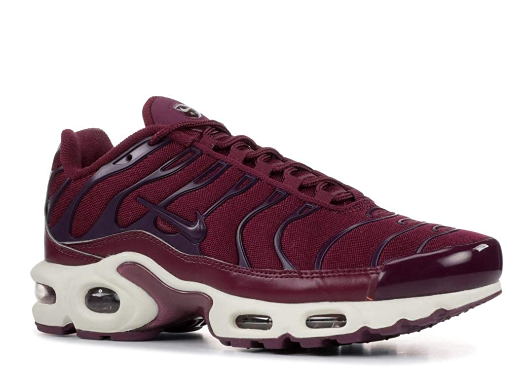 Nike Air Max Plus – Women s Bordeaux Bordeaux Summit White Nylon Running Shoes