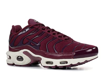 info for 3c5c5 64c2c Nike Air Max Plus - Women's Bordeaux/Bordeaux/Summit White Nylon Running  Shoes