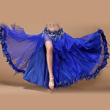 Xueyanwei Profesional Vestido De Danza India Danza del Vientre ...