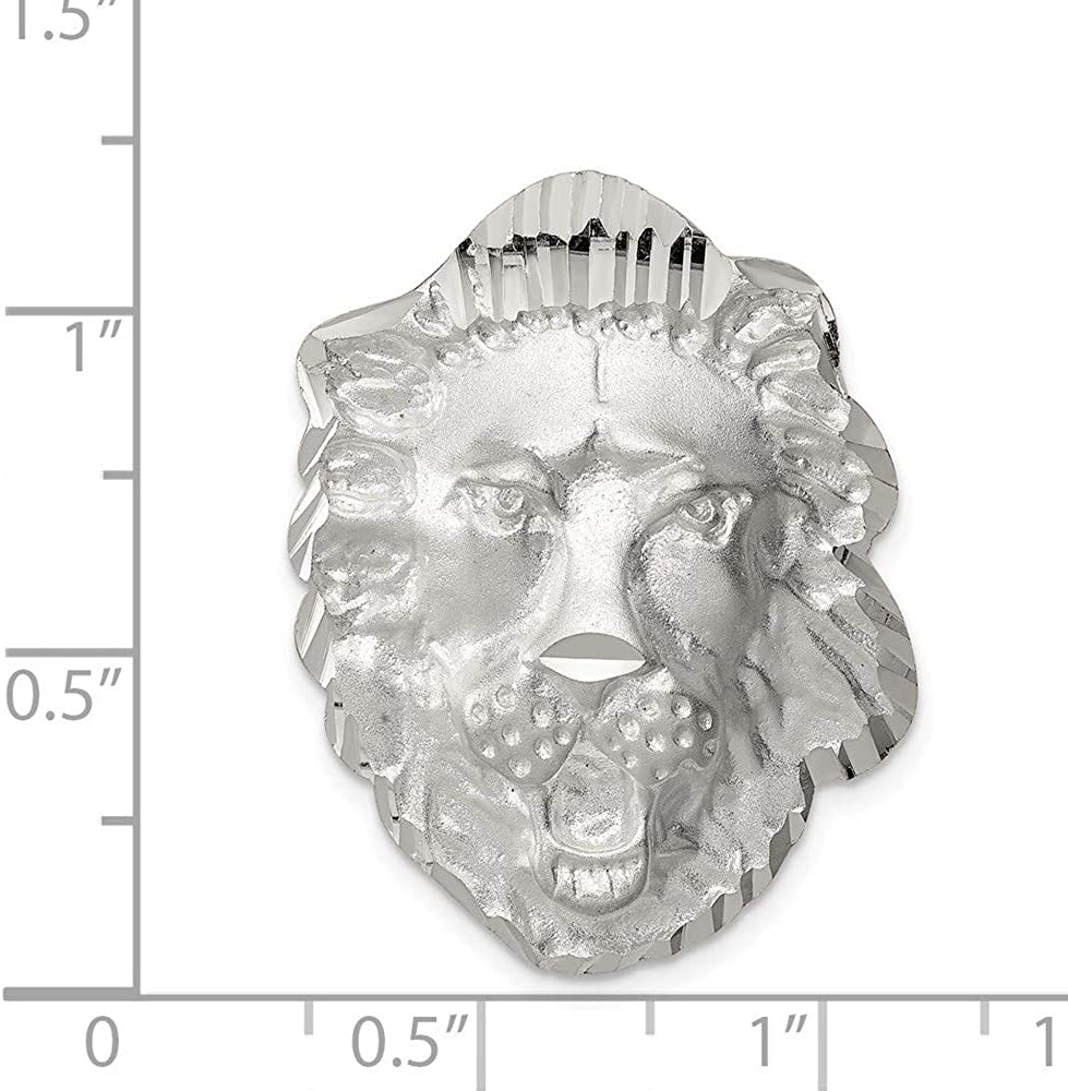 Roy Rose Jewelry Sterling Silver Lion Head Charm