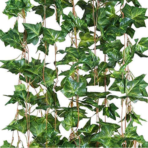 Eastern Fashional Life English Ivy Silk Greenery Wedding Party Garlands(40 Feet) ()