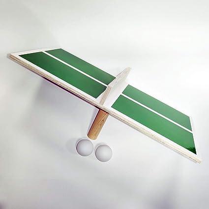 Framan Set de Ping Pong Portable para un Jugador. Mesa de Ping ...