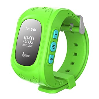 Amazon.com: Auntwhale Children GPS Tracker Smartwatch Smart ...