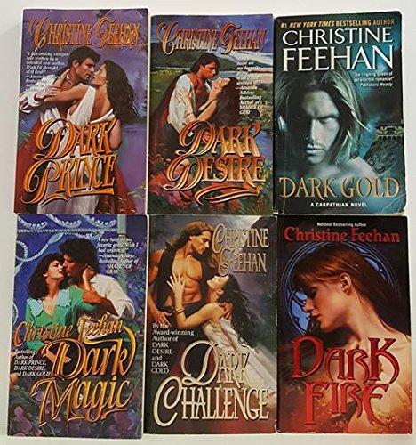 Carpathian Novels - Set of 6 Books - Dark Prince, Dark Desire, Dark Gold, Dark Magic, Dark Challenge and Dark Fire