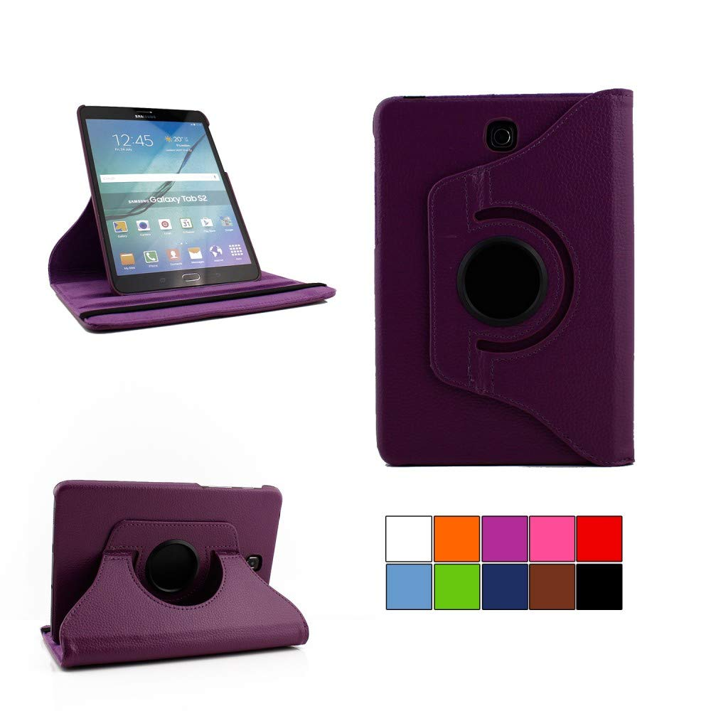 COOVY/® Cover for Samsung Galaxy TAB PRO 8.4 SM-T320 SM-T321 SM-T325 ROTATING 360/° DEGREE SMART CASE STAND HOUSING PROTECTION Sleep//Wake up colour hotpink