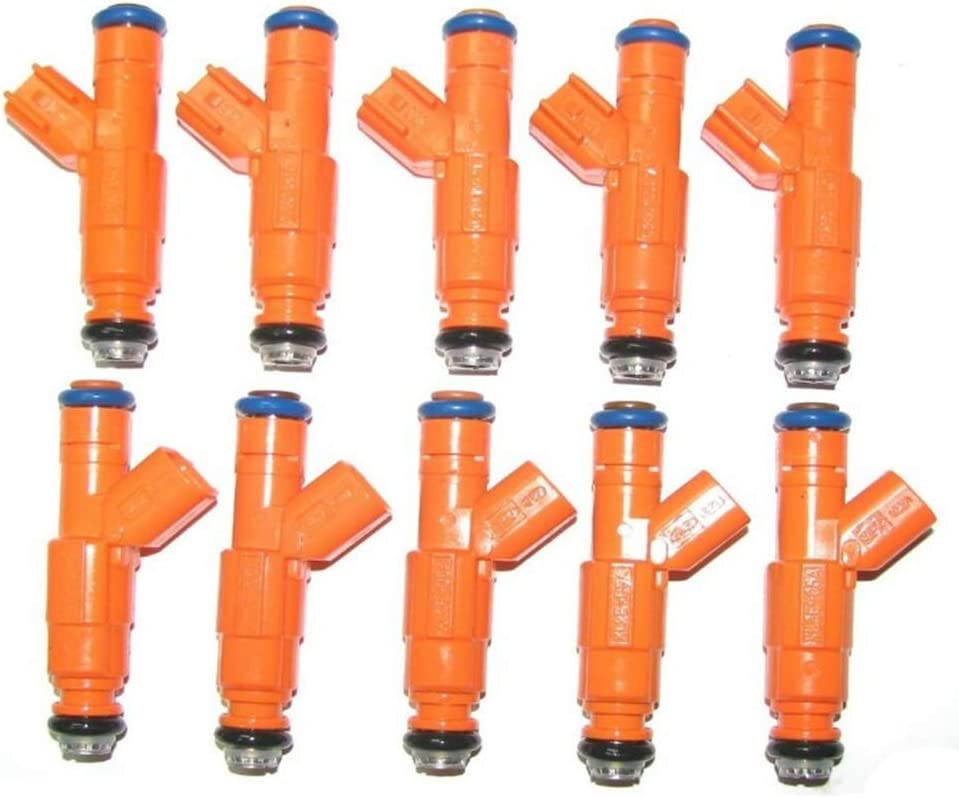 0280155917 FUEL INJECTORS FOR FORD F-250 F-350 MERCURY 4.6L 6.8L 10pcs