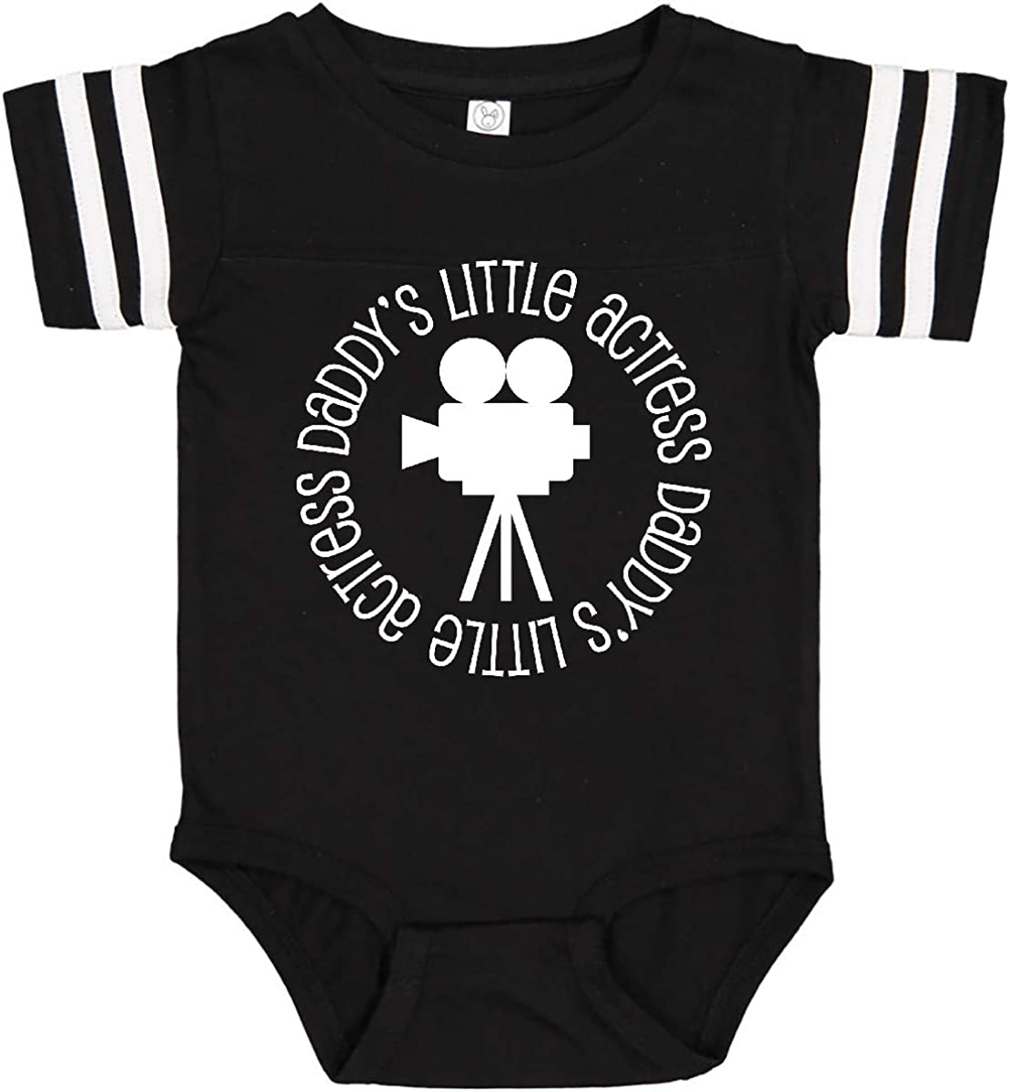 inktastic Daddys Little Actress Movie Star Infant Creeper