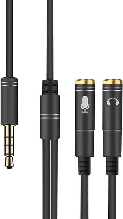 Adaptateur pour écouteurs Y Splitter 3.5mm