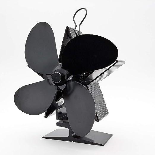 4 Cuchillas Ventilador De Estufa El Ahorro De Energía Ventilador ...