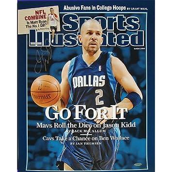 1b2f27358 ... NBA New Jersey Nets Jason Kidd Mavericks quotGo For It Sportsquot  Illustrated Cover Amazon.com adidas Dallas Mavericks 2 Jason Kidd Navy Blue  ...