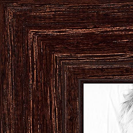 Amazon Arttoframes 12x20 Inch Walnut Stain On Red Oak Wood