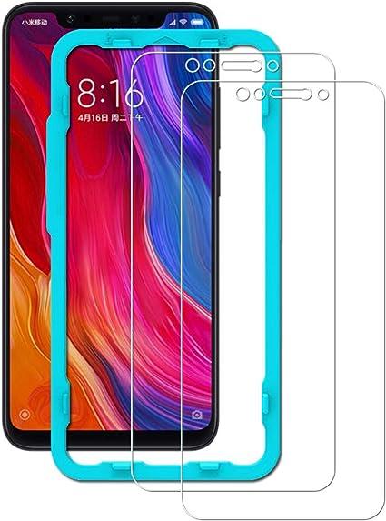 Ibywind Xiaomi Mi 8/Mi 8 Pro Protector de Pantalla [2 Piezas ...