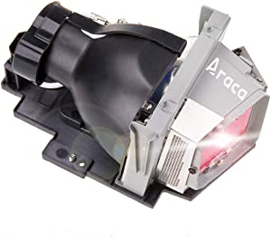 Araca for DELL 4320/331-2839 Replacement Projector Lamp for W5RPF 725-10284 with Housing