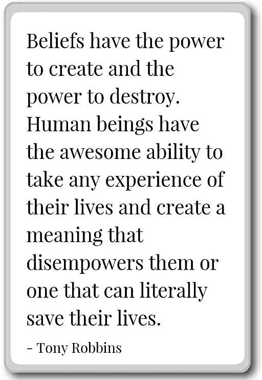 Creencias que el poder de crear y el poder... - Tony Robbins ...