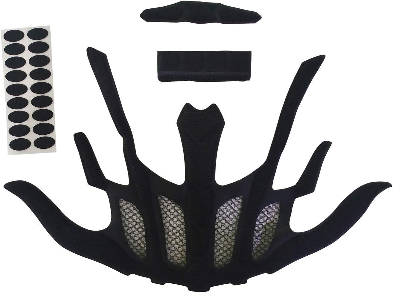 BESPORTBLE Kit de rembourrage en mousse de rechange universel pour casque et moto