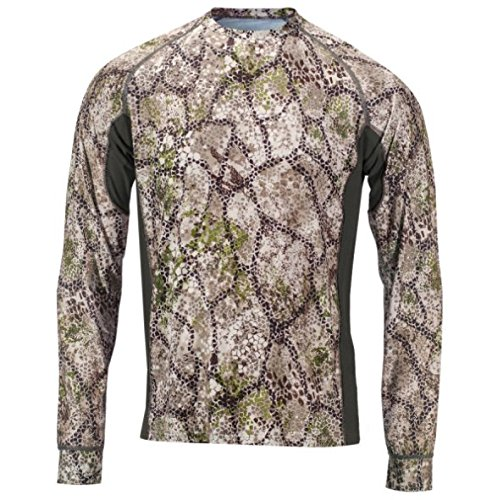 Badlands Men's Algus Tech Long Sleeve Camouflage Hunting Shirt, Approach Camo, Large ()