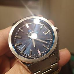 Amazon カシオ 腕時計 オシアナス Classic Line Bluetooth 搭載 電波ソーラー Ocw T0s 1ajf メンズ シルバー 国内メーカー 腕時計 通販