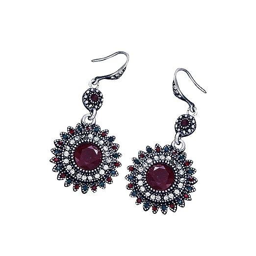 Amazon com: Women Dangle Earrings Drop Pierced Earrings