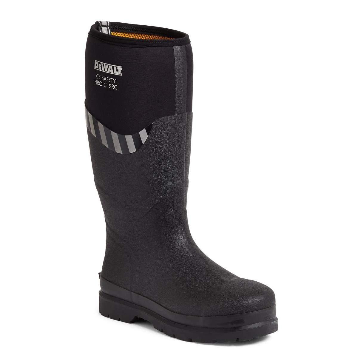 DEWALT Edmonston Mens Neoprene Safety Steel Toe SBP Wellie Boots