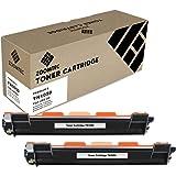 ZOOMTEC Compatible TN1050 Cartucho de tóner Reemplazo usado en Brother HL-1110 HL-1112 HL-1210W DCP-1510 DCP-1512 DCP-1610W MFC-1810 MFC-1910 MFC-1910W(Nergo), 2 Pack