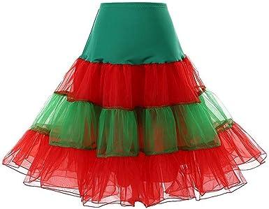 TEBAISE - Falda interior para mujer de los años 1950, vestido ...